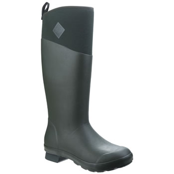 Image of Muck Boot - Tremont Wellie Tall - Deep Forest/Charcoal Gray