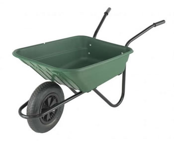 Image of Wheelbarrow - Green