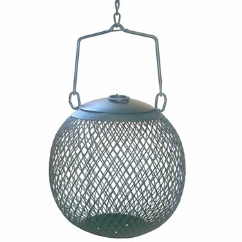 Image of No/No Green Seed Ball Wild Bird Feeder