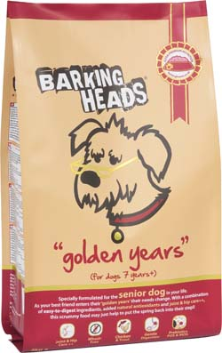 Image of BarkingHeads Golden Years 2KG