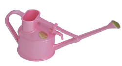 Image of Haws 0.7 litre Handy Watering Can: Great for children, too! Pink