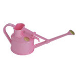 Small Image of Haws 0.7 litre Handy Watering Can: Great for children, too! Pink