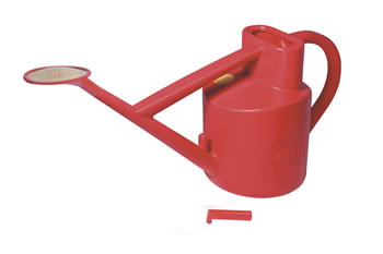 Image of Haws Practican Outdoor 6-litre Watering Can 5 year minimum life expectancy, Red