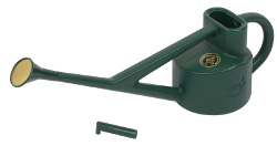 Image of Haws 2.25-litre Conservatory Watering Can, Ideal for Hanging Baskets, Green