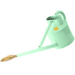 Small Image of Haws Professional Long-Reach Metal Watering Can 3.5L - Pale Blue