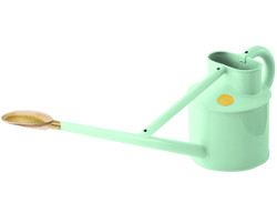 Image of Haws Professional Long-Reach Metal Watering Can 3.5L - Pale Blue