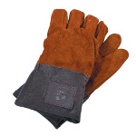 Small Image of Haws Leather Heavy Duty Mens Gardening Gloves Handmade & Thornproof