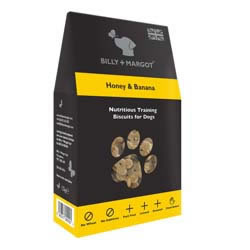Image of Billy & Margot Honey & Banana Biscuits 125g
