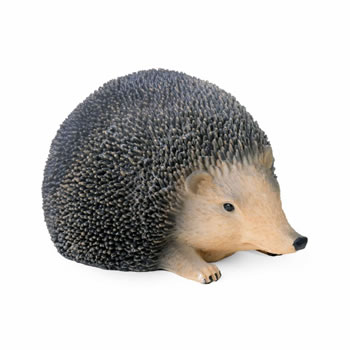 Image of Lifelike Resin Hedgehog Ornament for the Garden