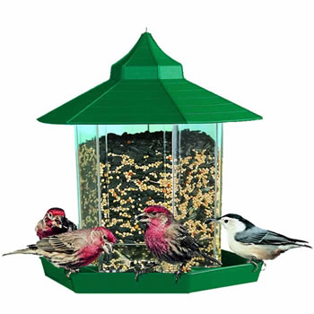 Image of Perky Pet Gazebo Wild Bird Feeder