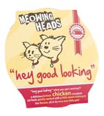 Small Image of Meowing Heads Hey Good Looking 8 x 85g made with 80% chicken