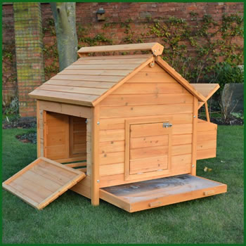 Image of Large House L Chicken Coop - 8 Bird Home Model