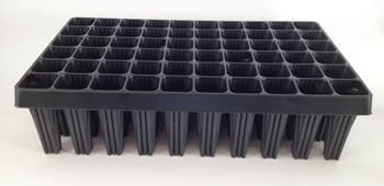 Image of 2 Extra Large Plug Plant Root Trainer 60-cell seed trays trees large vegetables
