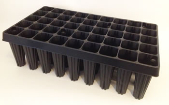 Image of 2x Extra Large Plug Plant Root Trainer/ Seed Trays (45-cell)