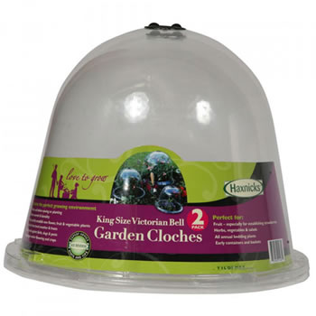 Image of King Size Victorian Bell Cloches (Pack of 2)