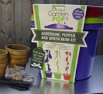 Extra image of GardenPop Rainbow Veg Growing Kit - With Seed Propagator