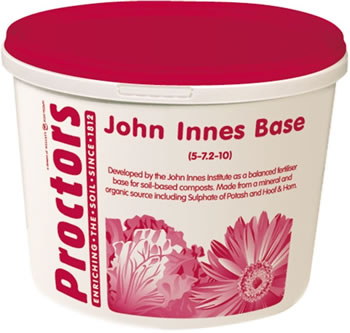 Image of 5kg tub of Proctors John Innes Base to mix with any compost, garden fertiliser
