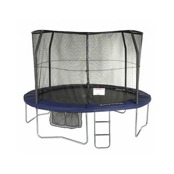 Image of Jumpking JumpPOD 12ft Deluxe Round Trampoline and Enclosure (JPD12)