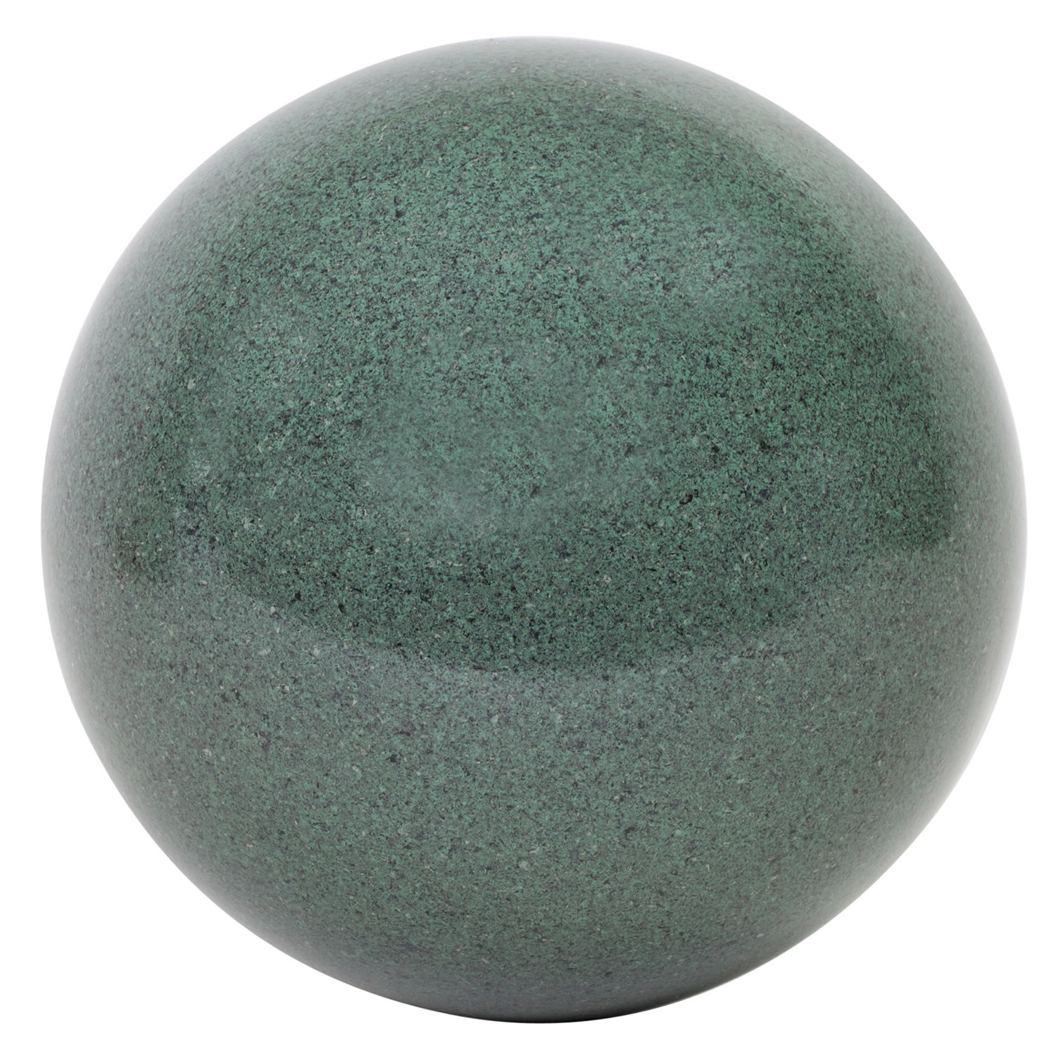 Green Marble Ball : Green marble effect cm stainless steel garden gazing