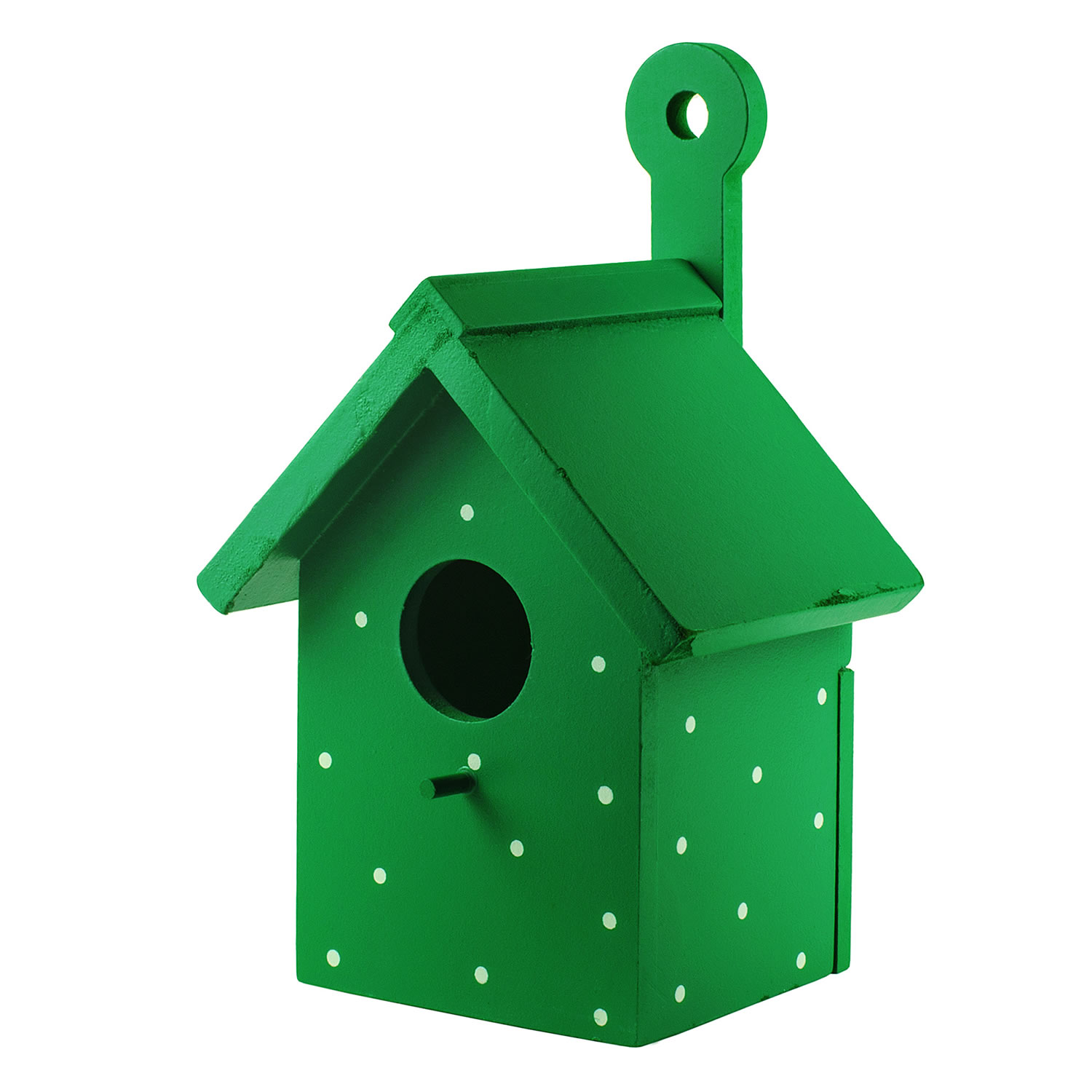 Bright Green House Of Bright Green Wooden Wall Mountable Decorative Garden Bird Box House