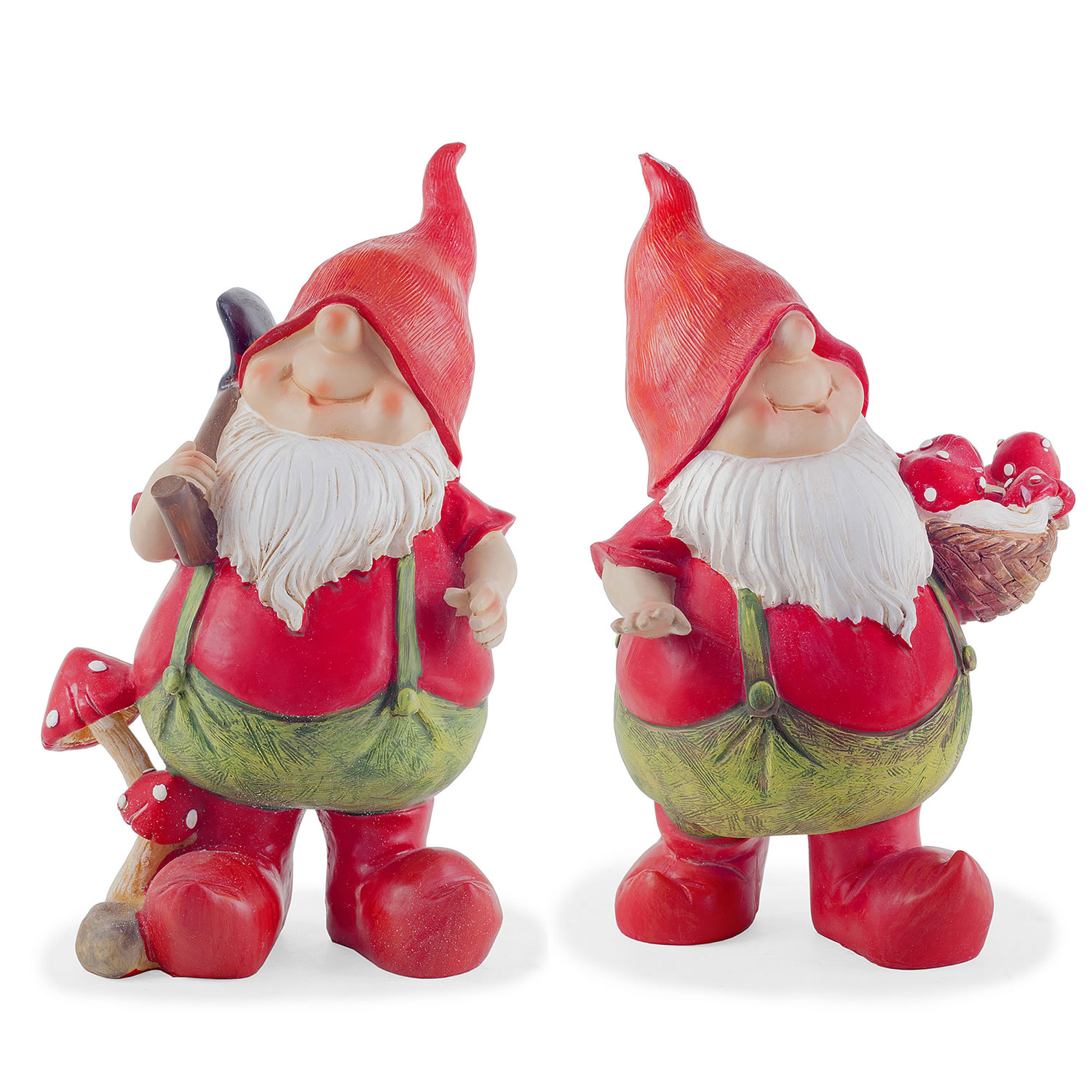 Garden Gnomes On Sale: Max & Mason The Traditional Red Gardening Gnome Ornament