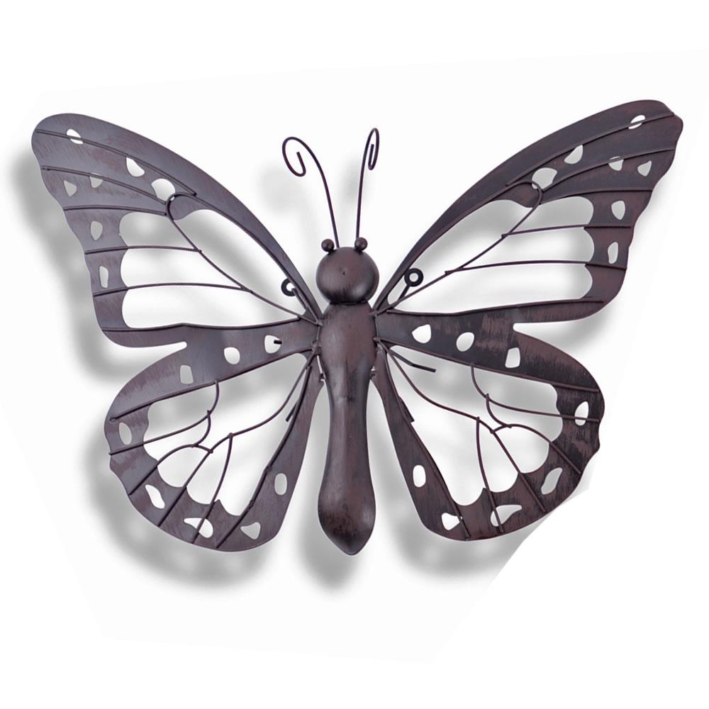 Large decorative metal butterfly garden wall art garden4less uk shop - Massieve decoratieve tuin ...