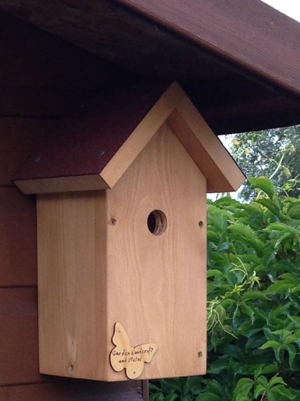 Handmade Wooden Bird Box 163 19 99 Garden4less Uk Shop