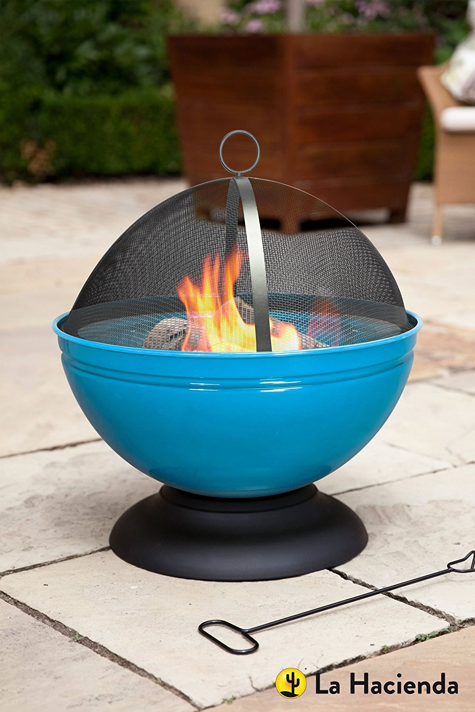 Globe Fire Pit : La hacienda globe fire pit wood burner £