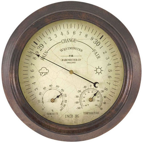 Westminster Barometer And Thermometer 163 27 99