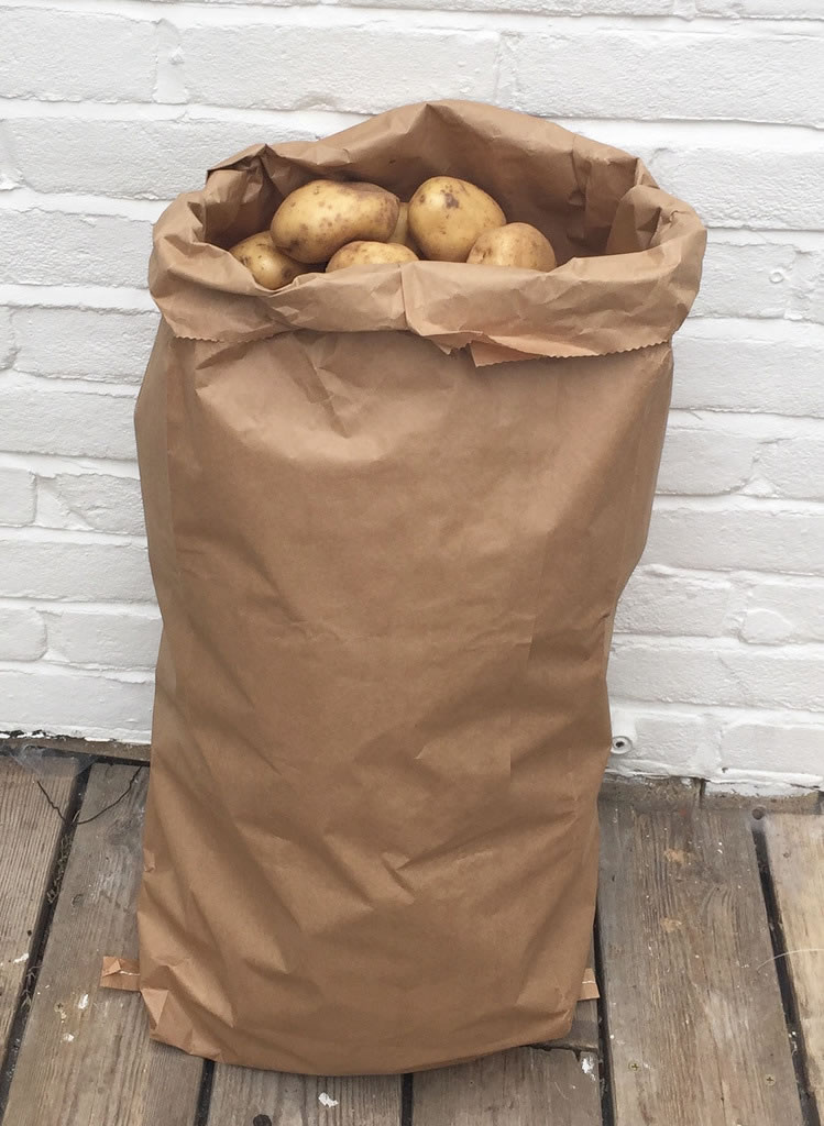 10 X Nutley S 25kg Paper Potato Sacks Harvest Store