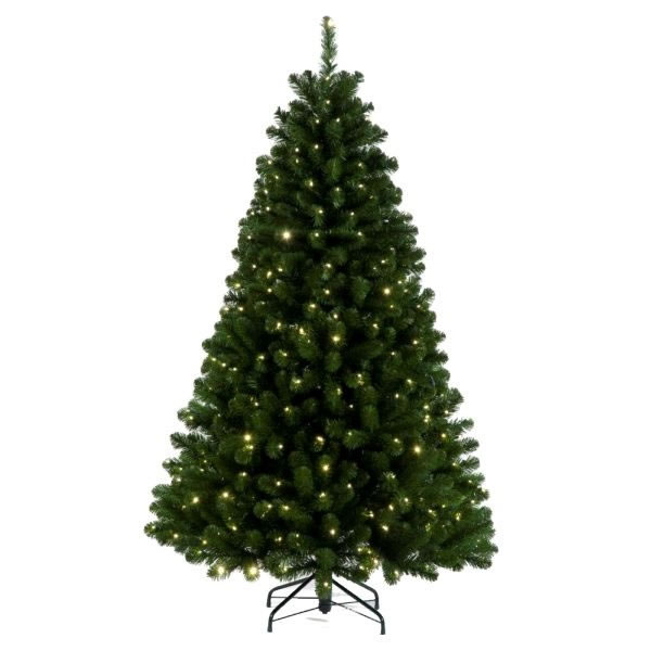 Christmas Tree With Lights Tesco: Tree Classics 1.8m (6ft) Green Arctic Spruce With Warm