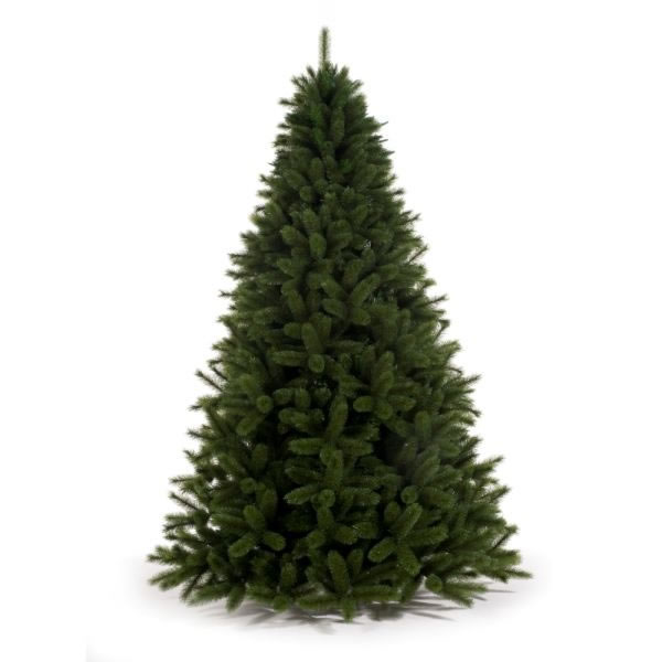 Artificial Christmas Trees Amazon Uk: Tree Classics 2.1m (7ft) Green Siberian Spruce Artificial