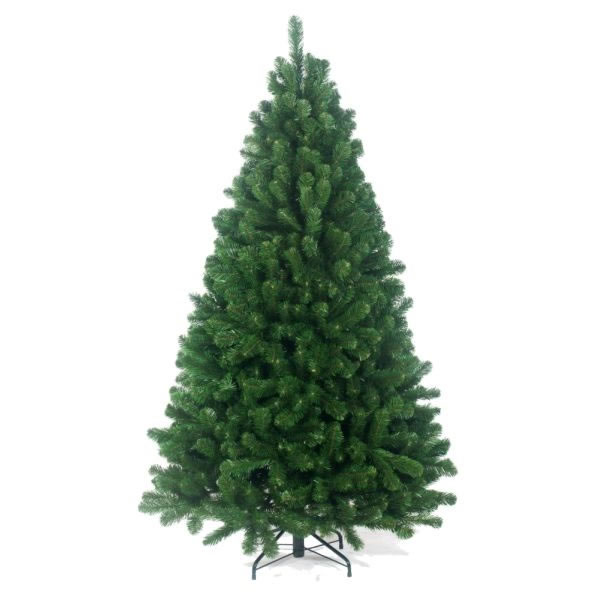 Christmas Tree With Lights Tesco: Tree Classics 2.4m (8ft) Green Arctic Spruce Artificial