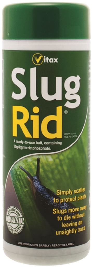 Slug Rid Organic Pelleted Bait Pest Control 500g 8 5 Garden4less Uk Shop