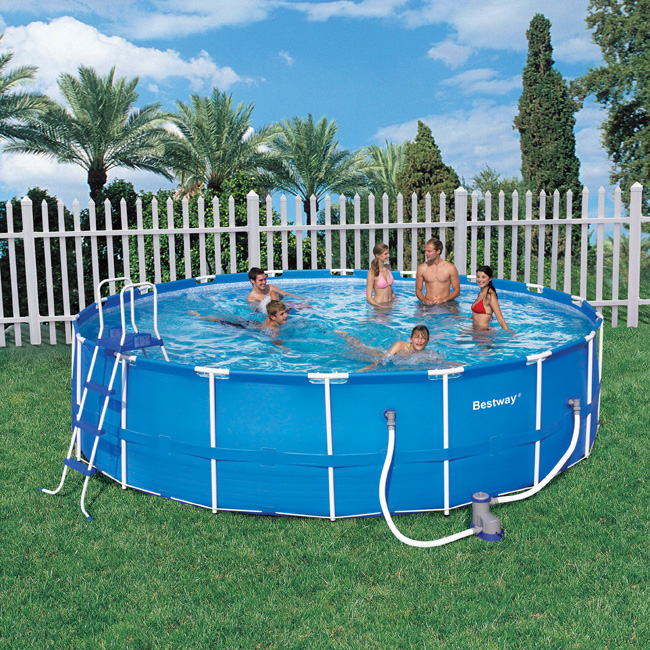 Bestway 18ft X 48 Quot Steel Pro Frame Above Ground Pool With