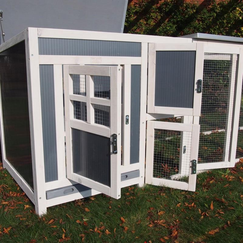 Hybrid Cube Chicken Coop Amp Run 163 94 99 Garden4less Uk Shop