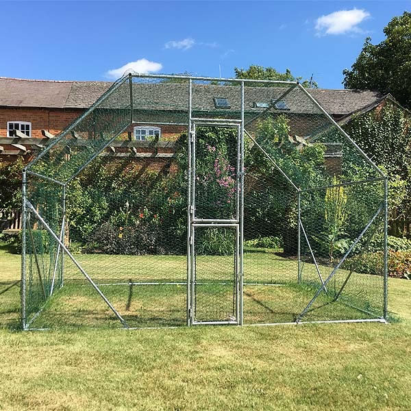 2m X 3m Walk In Galvanised Cage 163 219 99 Garden4less Uk