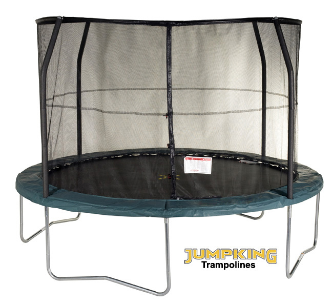 8ft Round Trampoline And