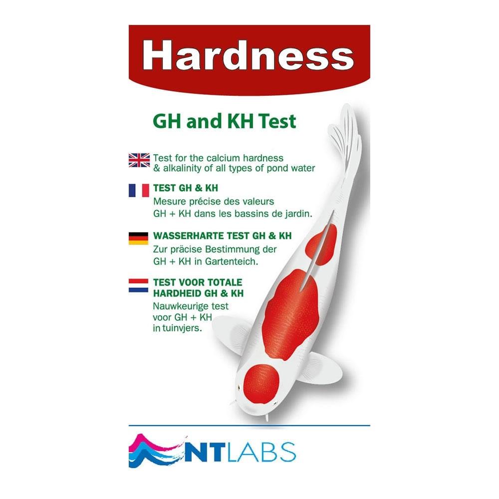 Nt labs hardness test garden4less uk shop for Koi pond kh level