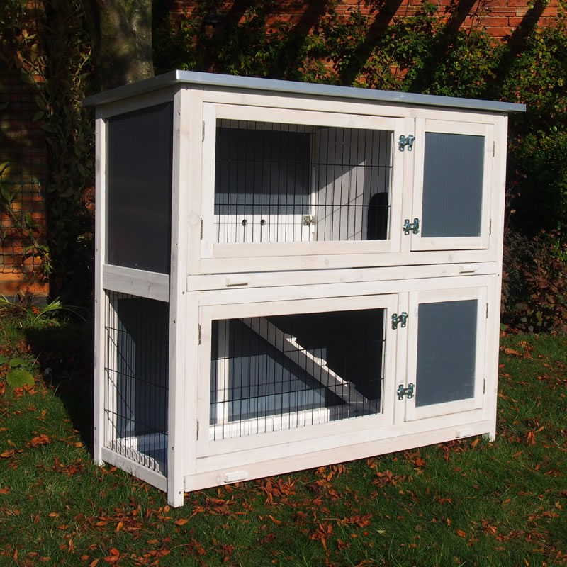 Hybrid Rhl Rabbit Hutch 163 89 99 Garden4less Uk Shop