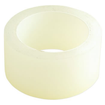 "Image of 2x Professional Polytunnel Joining Repair Tape UV Stabilised 7.5cm (3"") x 25m"