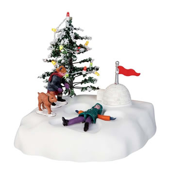 Image of Lemax Christmas Village - Angel's Wings - Battery Operated (44187)