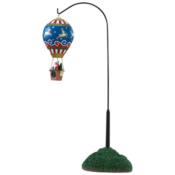 Image of Lemax Christmas Village - Reindeer Hot Air Balloon - Battery Operated (84388)
