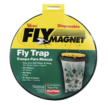 Image of Victor Poison Free Pest Control M530 Fly Magnet Bag Trap with Bait