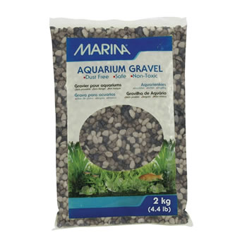 Image of Marina Decorative Aquarium Gravel Grey Tone 2kg