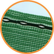 Image of 5m x 2m Horticultural 50% Shade Netting Windbreak