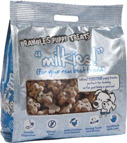 Image of Bramble Puppy Treats Milkies 200g