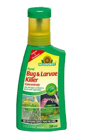 Image of Neudorff Pyrol Bug & Larvae Killer Concentrate 250ml for up to 25l spray