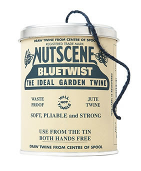 Image of Authentic Nutscene Tin O' Twine Jute String 150m: Blue
