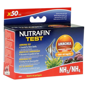 Image of Nutrafin Ammonia Test Kit - Fresh and Salt Water